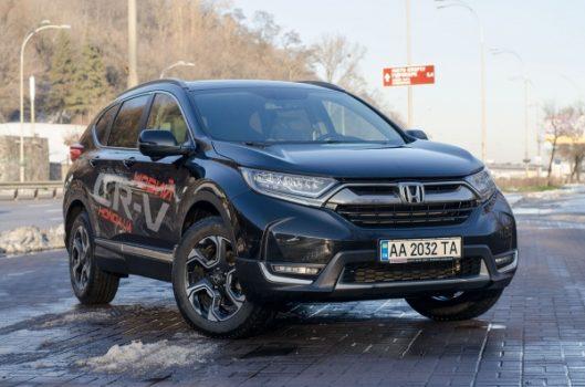 Тест-драйв Honda CR-V пятого поколения